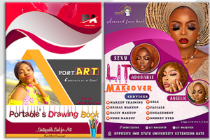 Machinep graphics designing = Flyer designs