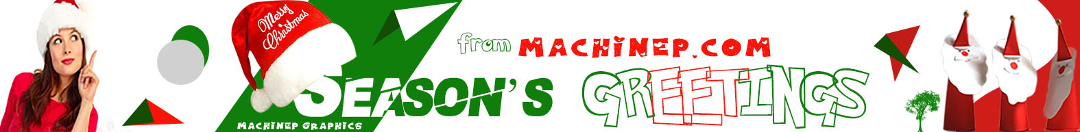 Season's greetings from machinep.com by machinep grphics