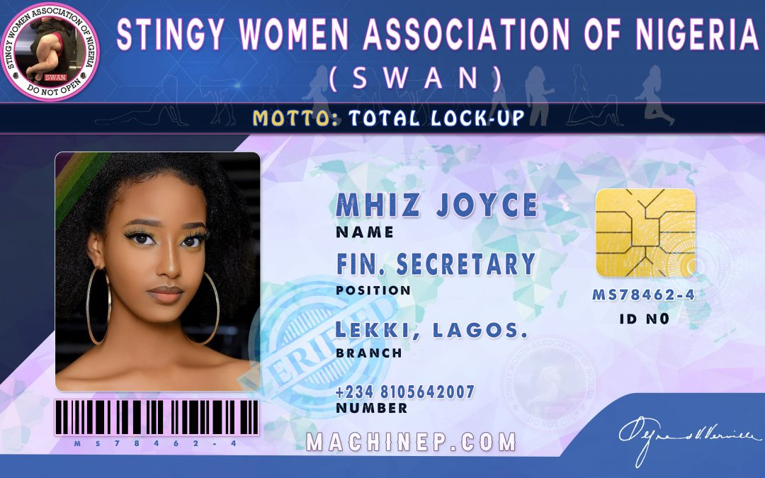 GET Official ID Card for Stingy Women Association (SWAN)