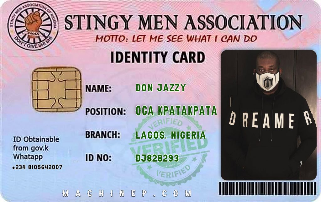 How to get ID Card for Stingy Men Association