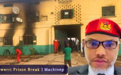 What Nnamdi Kanu said about Owerri Prison Break | No single soul…