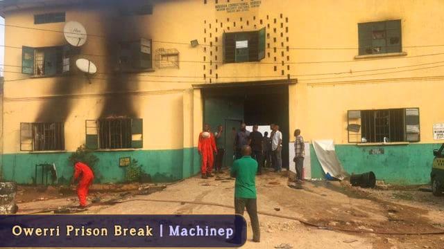 BREAKING| Owerri Prison Break, Hundreds Freed | Details & Videos