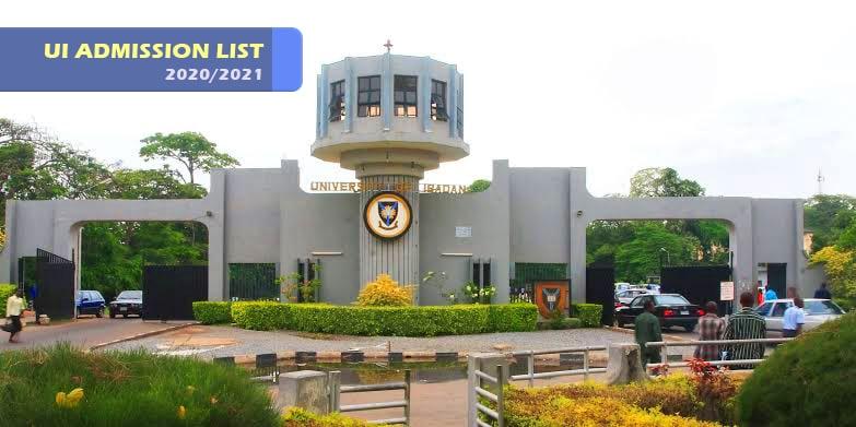 University of Ibadan (UI) 2020/2021 Admission List | Full List